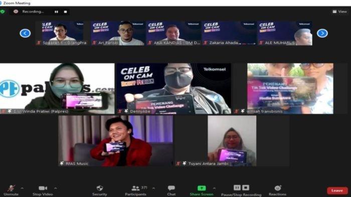Telkomsel Gelar Acara Celeb on Cam Bersama Rizky Febian, Dihadiri Jurnalis dan Komunitas Sumatera