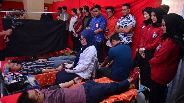 Rayakan Hari Pahlawan, Persatuan Istri Karyawan Telkomsel (Periskasel) Gelar  Aksi Donor Darah