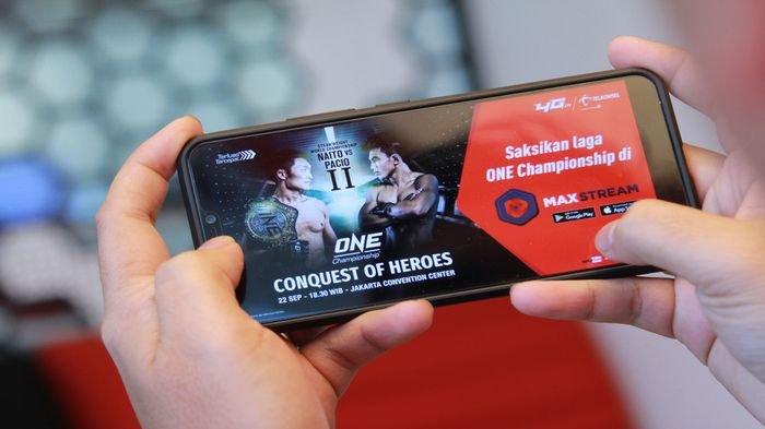 ONE Championship Jalin Kemitraan dengan Telkomsel Sebagai Mitra Konten Video Digital MAXstream