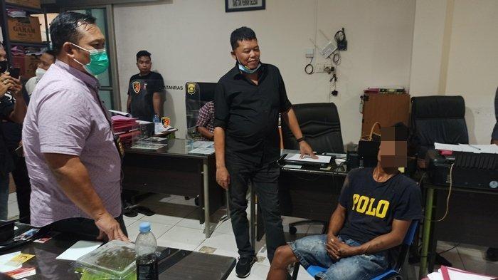 Pembobol Konter Hp di Jalan Pangeran Ratu Ternyata Oknum Sopir, Ditangkap Tim Katim Heri Gondrong