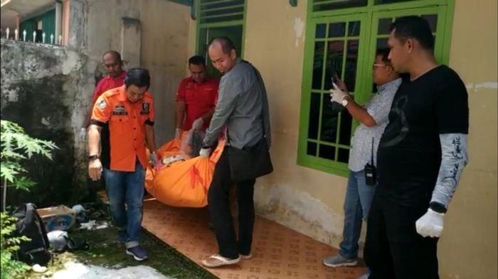 Kasus Penemuan Mayat Ibu dan Anaknya Bersimbah Darah di Kontrakan Jalan Swakarya IT I Palembang