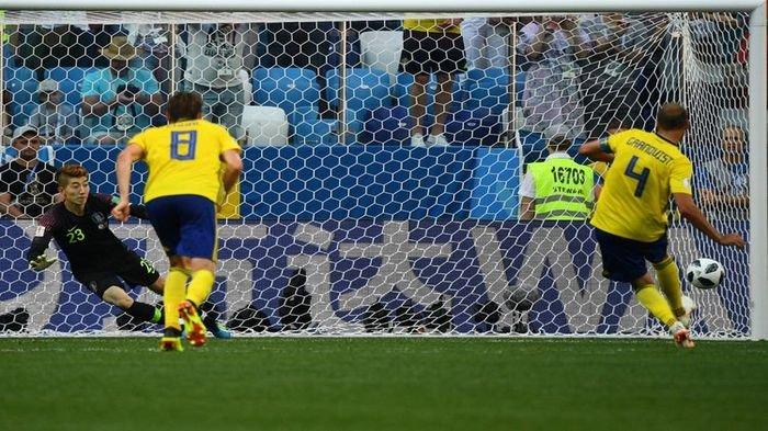 Video Bantu Wasit Tentukan Penalti untuk Swedia Buat Kekalahan bagi Korea Selatan