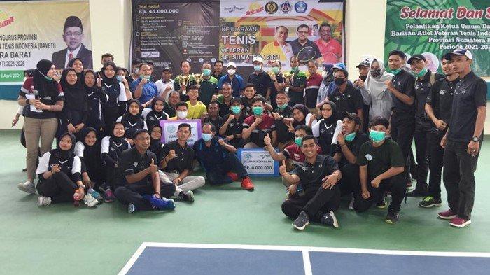 Raih Hasil Maksimal di Padang, Tim Tenis Sumsel Optimis di PON Papua Mendatang