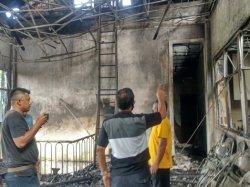 Kebakaran Kantor Pajak Lubuklinggau Diduga dari Korsleting Pemanas Air