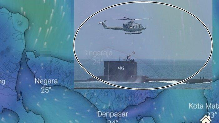Terjebak di Cerukan 40 Meter Utara Laut Bali, KRI Nanggala 402 Bisa Dievakuasi 8 Jam dari Sekarang