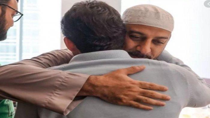 Terkuak Pertemuan Terakhir Sandiaga Uno dan Syekh Ali Jaber, Pelukan Erat Tinggal Kenangan: Ya Allah