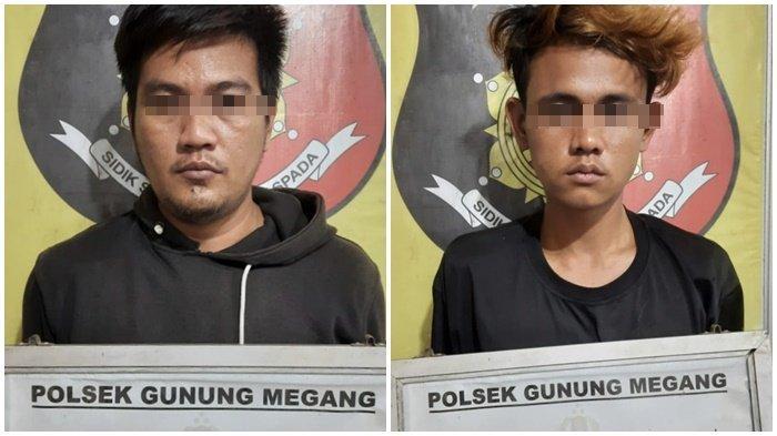 Dua Tersangka Curanmor di Bekuk Team Trabazz Polsek Gunung Megang