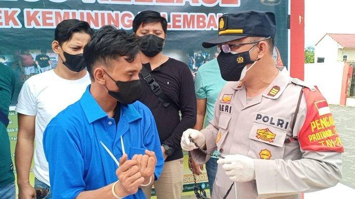 Demi Judi Slot dan Narkoba, Residivis Jambret di Palembang Ini tak Kapok Masuk Penjara Lagi