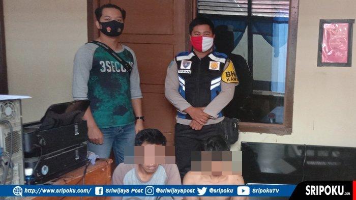 2 Sekawan di Empatlawang Ini Pasrah Dikepung Petugas saat Lagi Tidur, Mencuri Perlengkapan Karaoke