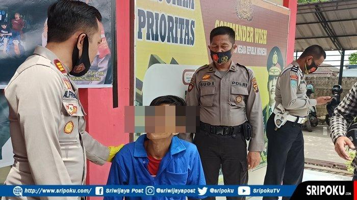 Pelaku Pembunuhan Tetangga di Kemuning Palembang Ini Sudah Empat Kali Keluar Masuk Penjara