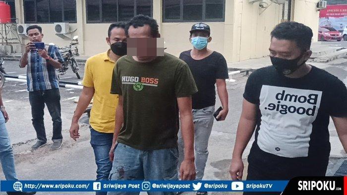 JATANRAS Polda Sumsel Tangkap Pencuri Ban Serep, Melawan Petugas saat Ditangkap, Keok Ditembak!