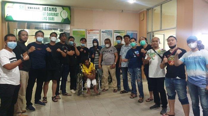 Asyik Nongkrong di Pasar Burung Palembang, Tersangka Pembacokan Akhirnya Diringkus Petugas