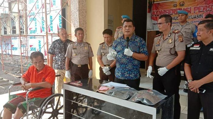 Buronan 6 Tahun Dalam Kasus Pembunuhan, Akhirnya Ditembak Anggota Polsek Bayung Lencir Resor Muba