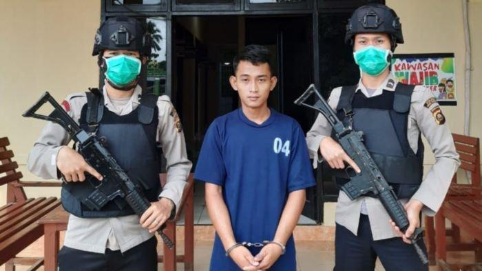 Dilaporkan Curi Mesin Chainsaw dan HP Warga Sekampungnya, Pemuda di Musirawas Ini Dibekuk Polisi
