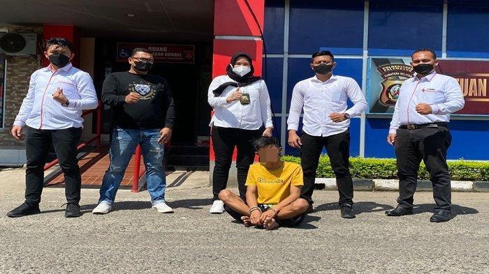 Dia Diam Saja Langsung Saya Bertindak, Berbuat Asusila ke Pacar Pemuda di Palembang Ditangkap