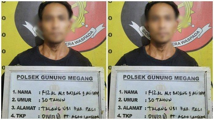 Tim Trabazz Polsek Gunung Megang Amankan Tersangka Pembunuhan Terhadap Istri Sirih