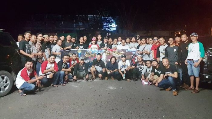 TeRuCI Palembang Gelar Sahur On The Road 2017