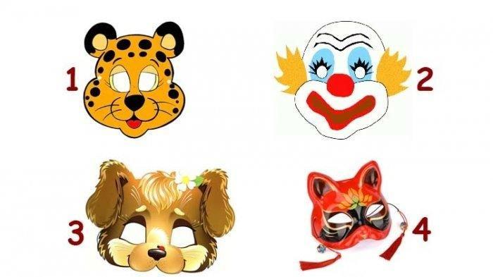 Tes Kepribadian: Gambar Topeng yang Kamu Pilih, Hasilnya Ungkap Apa yang Disembunyikan dalam Hidupmu