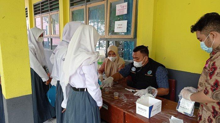 Saat Pandemi, Ratusan Siswa SMAN 5 Lubuklinggau Jalani Test Urine: Ketahuan Langsung Dikeluarkan