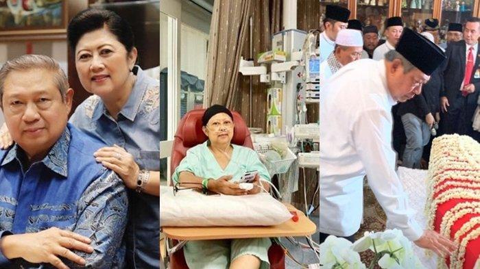 Teteskan Air Mata saat SBY Bisikan Kalimat Cinta, Begini Detik-detik Ani Yudhoyono Meninggal Dunia