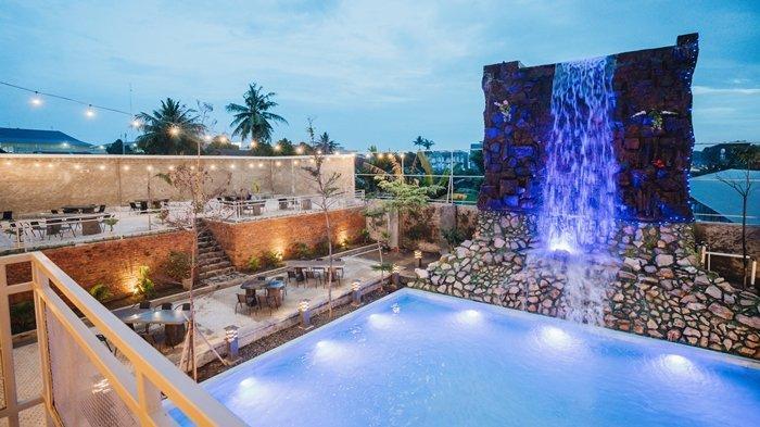 The Forest Hadir dengan Konsep Wisata Alam, Ada Air Terjun, Cafe dan Resto Kekinian di Palembang