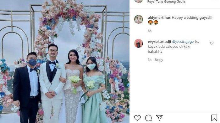 Theresa Wienathan menikah