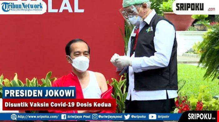 Tidak Gemeter Seperti Suntikkan Pertama, Vaksinator Covid-19 Presiden Jokowi Lebih Tenang