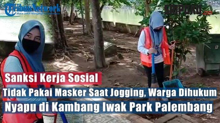 Satgas Covid-19 Palembang Bakal Razia Masker di Perkantoran, Hari Keempat 87 Orang Terjaring