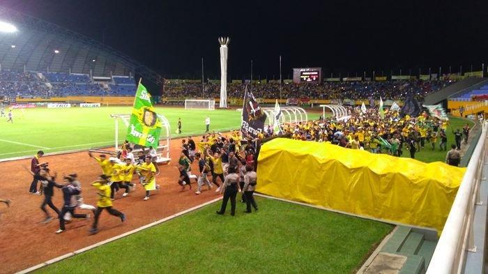 2 Bus Suporter SFC Diberangkatkan Beri Dukungan Langsung Dukung Sriwijaya FC Kontra Persija