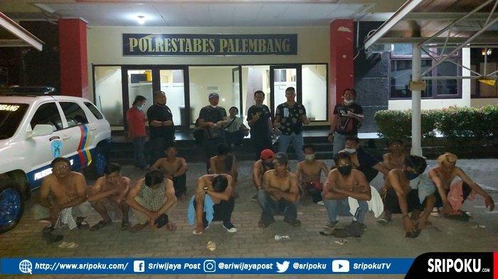 14 Tukang Parkir Liar di Samping PS Mall Palembang Diamankan, 'Kami Setor Pak, Sisanya untuk Makan'