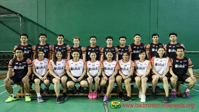 Tim Bulu Tangkis Indonesia Siap Berjuang pada Kejuaraan Beregu Asia 2020, Berikut Nama-namanya