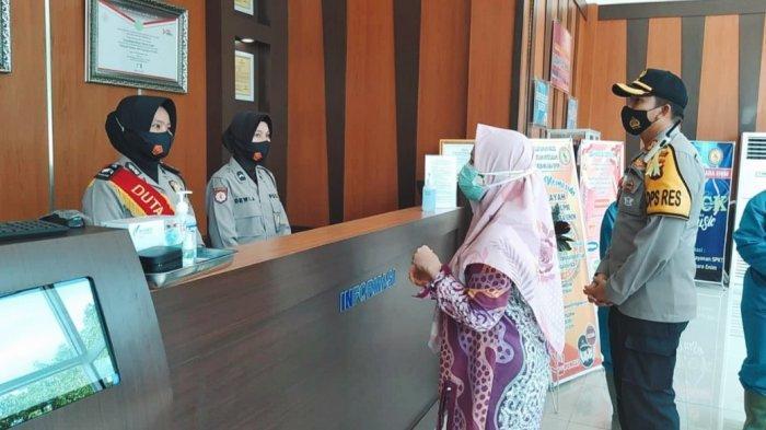 KAPOLRES AKBP Donni Eka Syaputra Jadi Terharu, Tim Kemenpan RB Mendadak Kunjungi Polres Muaraenim