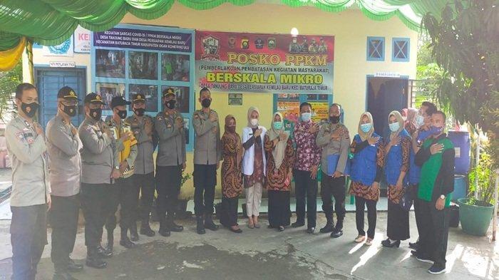 Tanjung Baru Wakili OKU Lomba PPKM Tingkat Sumsel
