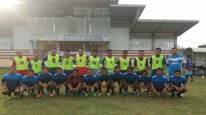 OKI All Star Siap Hadang dan Imbangi Laju Tim All Star Indonesia di Lapangan Hatta Kayuagung