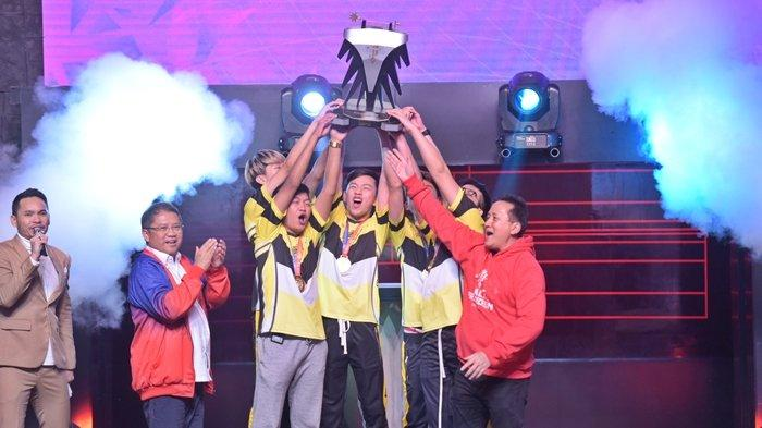 Kalahkan Louvre.JG, ONIC Esports Sukses Raih Gelar Juara Pertama Piala Presiden Esports 2019