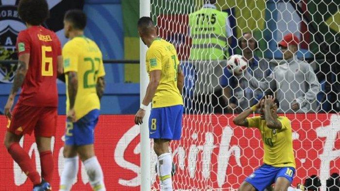 Brasil Vs Belgia - Gol De Bruyne Pastikan Tantang Tim Ayam Jantan di Semifinal Piala Dunia 2018