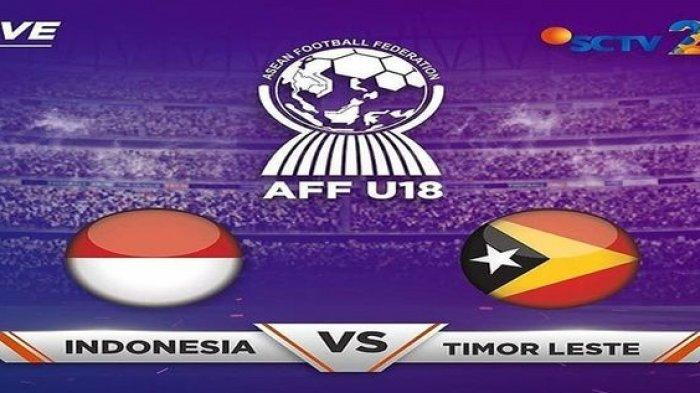 Prediksi Susunan Pemain Timnas U18 Indonesia vs Timor Leste Piala AFF U18 2019 Sore Ini