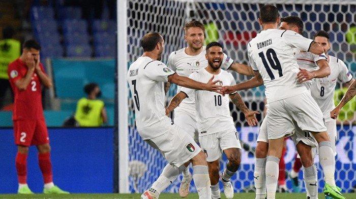 Susunan Pemain Italia vs Swiss di Euro 2020 Live RCTI Lengkap Update Klasemen Piala Eropa Grup A