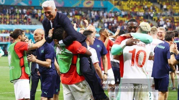 Jadwal Bola Euro 2021 Malam Ini Hasil Swiss vs Spanyol di Piala Eropa Bertemu Belgia atau Italia