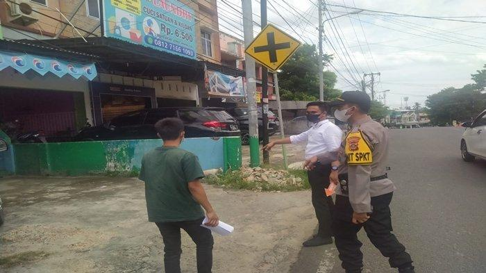Perampokan di Jalan Angkatan 66 Palembang, Sopir Barang Disodorkan Senjata Tajam dan Air Keras