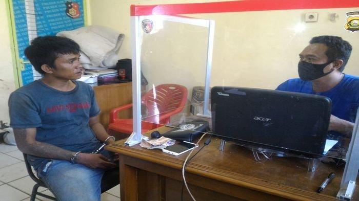Ngaku Butuh Uang Buat Pengobatan Ibu, Seorang Pria di Palembang Nekat Todong, Keburu Dimassa Warga