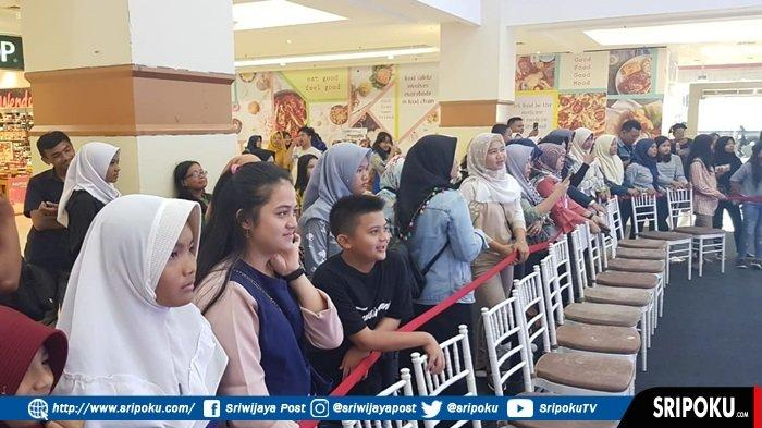 Siap-siap Pemeran Milea Film Dilan 1991 Sapa Wong Palembang di Atrium PIM Sore Ini
