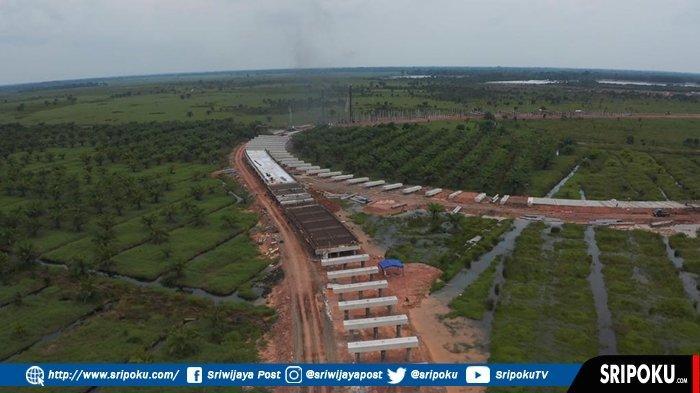 Jalan Tol Indralaya-Prabumulih (Indraprabu) Dikebut, Biaya Konstruksi Rp 6,7 Triliun Panjang 64,8 KM