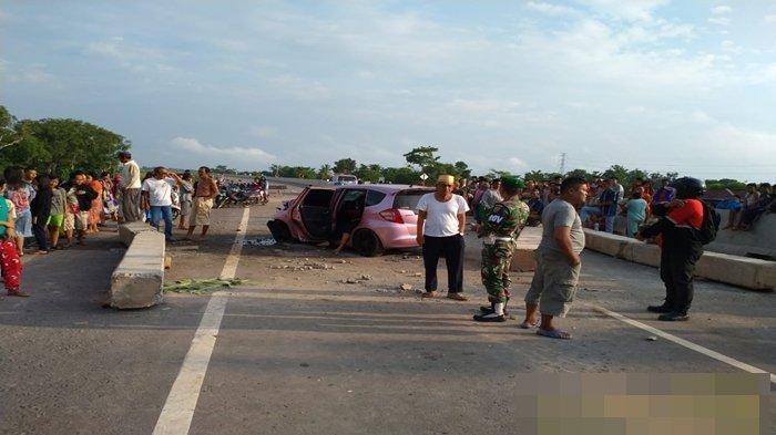BREAKING NEWS: Kecelakaan Tunggal di Tol Kayuagung-Palembang OKI, Tiga Tewas Tiga Luka-luka