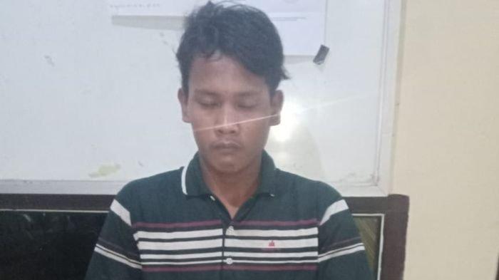 Polsek Mesuji Amankan Tersangka Pungli di Jalan Lintas Timur Sumatera di Desa Pematang Panggang OKI