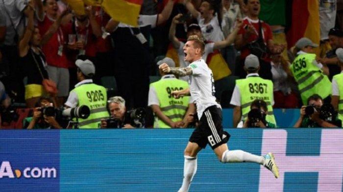 Toni Kroos Cetak Gol Paling Larut, Ini 5 Fakta Menarik Jerman Vs Swedia di Piala Dunia 2018