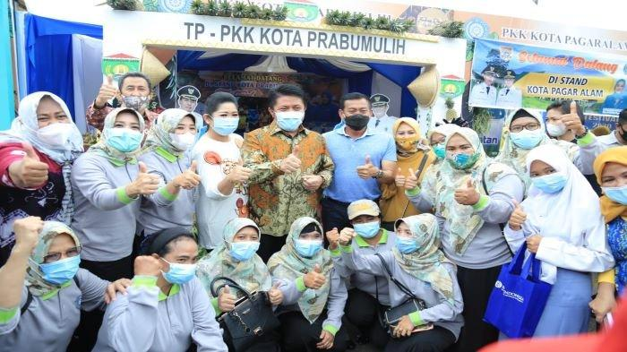 TP PKK Prabumulih Borong Tujuh Penghargaan Tingkat Provinsi