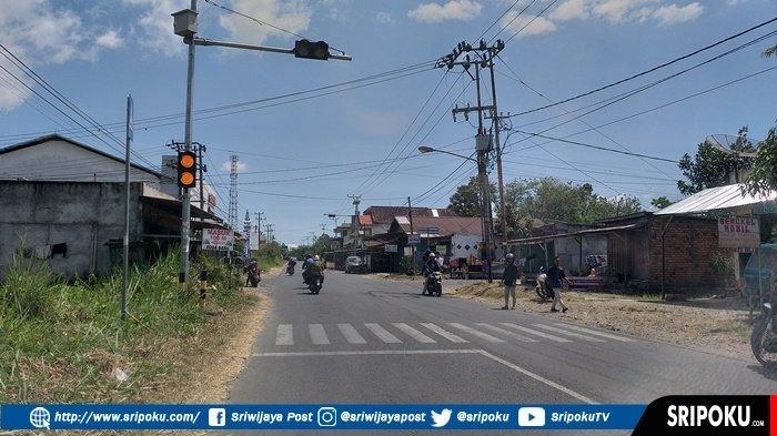 Sering Menjadi Lokasi Kecelakaan, Warga Minta Traffic Light Simpang Tanjung Aro Pagaralam Diganti