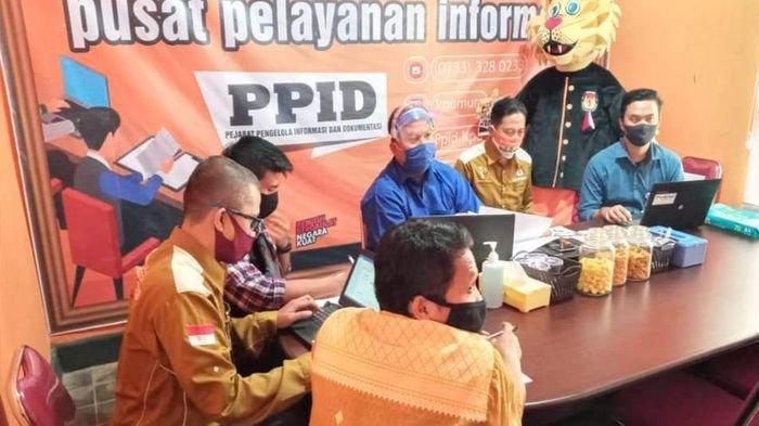 Divisi Perencanaan Data dan Informasi KPU Musirawas Ikuti TOT Coklit PPDP dengan KPU RI