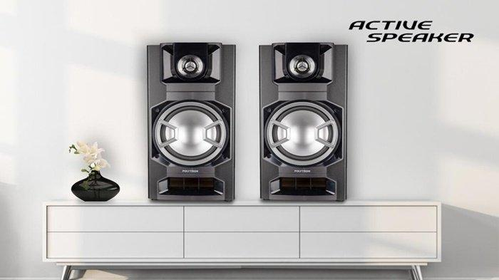PRODUK Terbaru Polytron, Tren Speaker Active Terbaru Dengan Design yang Compact dan Serba Digital